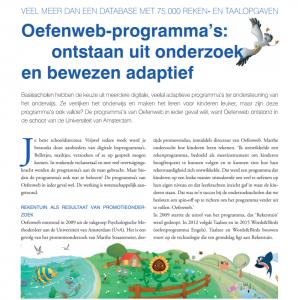 Oefenweb in PO management