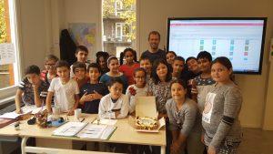 zeekasteel compleet op tijl uilenspiegelschool amsterdam