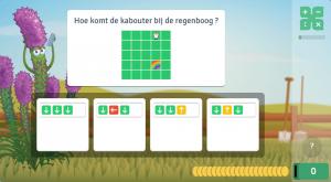 leren programmeren in het spel codetaal in rekentuin