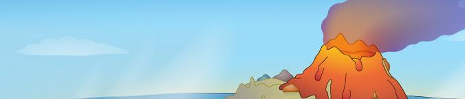 vulkaaneiland in taalzee
